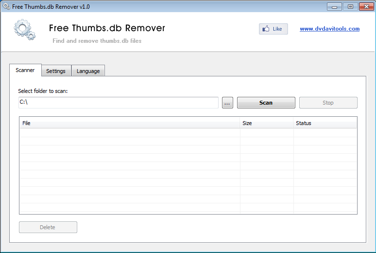 Free Thumbs db Remover: Delete Thumbs db Files