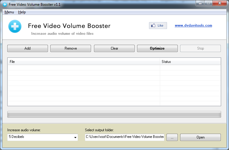 Video Volume Booster
